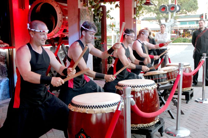 Buddha Garden Tiako Drummers