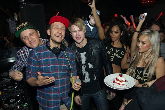 """Glee"" actor, Chord Overstreet, celebrates his birthday at LAVO"