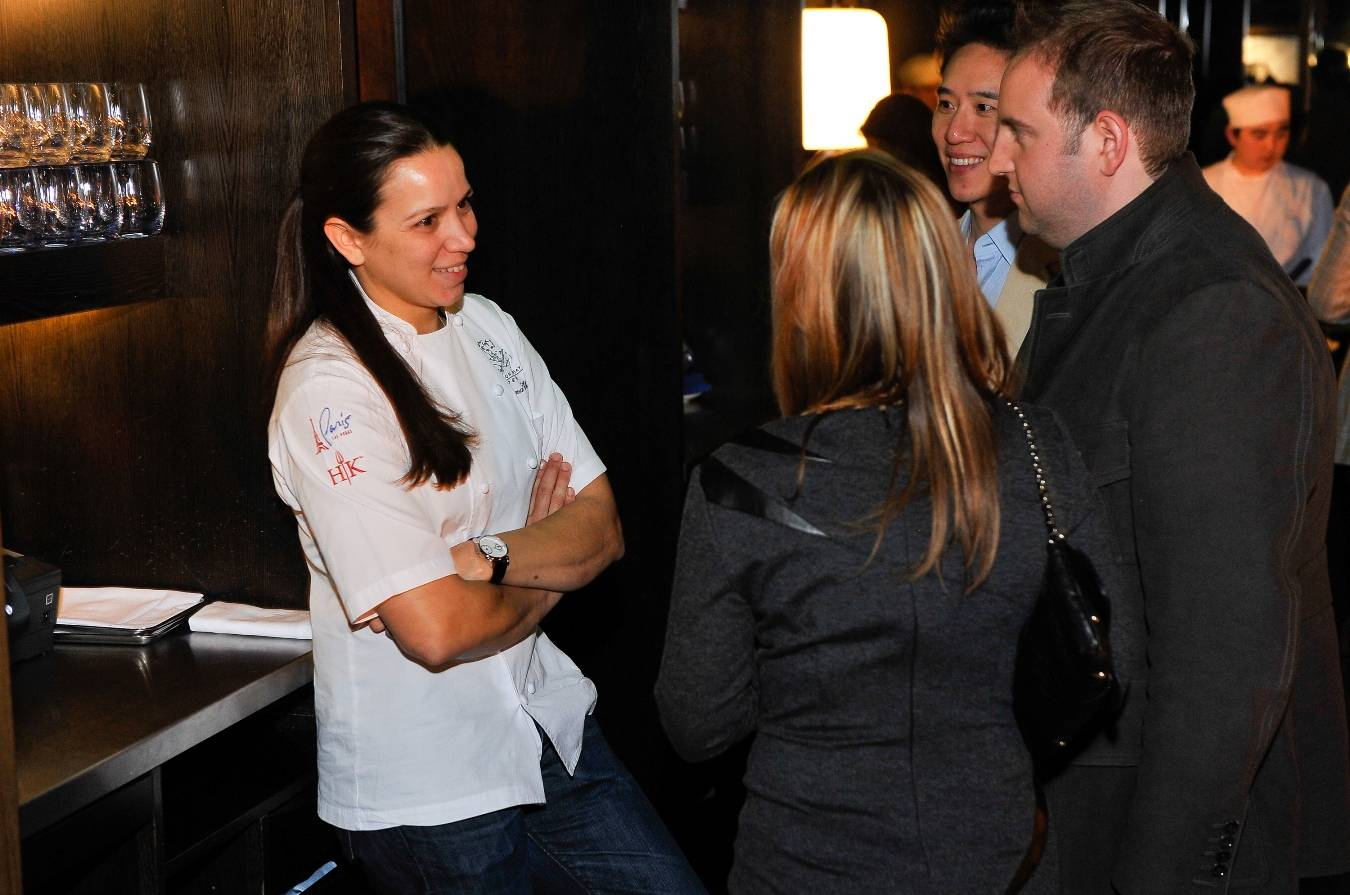Christina Wilson Mingles with Guests at Preview of Vegas Uncork'd by Bon Appetit