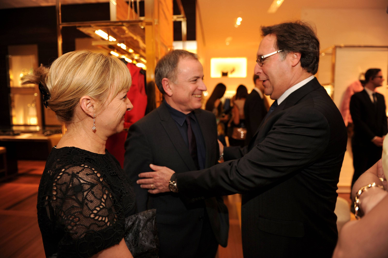 Brigitte & Michael Burke, & Gary Lewis