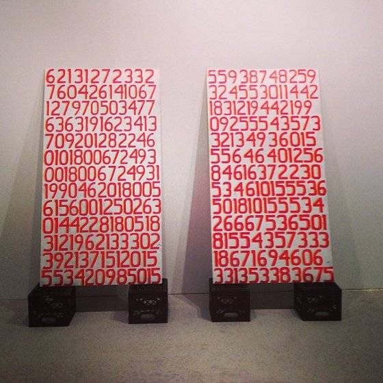 Display Of Numbers By Mateo Nava