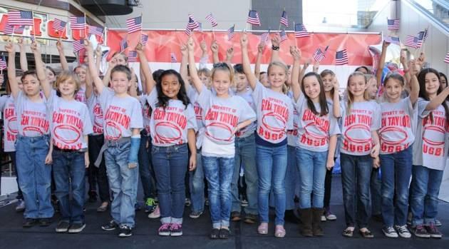 Glen Taylor Elementary School students