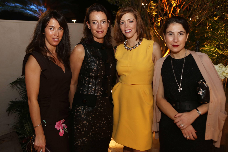 Celine Asimon, Florence Masurel, Lanesa Elrod, & Sandrine Segato