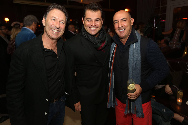 Isaac Rosenberg, Paulo Bacchi, & Gary Nader