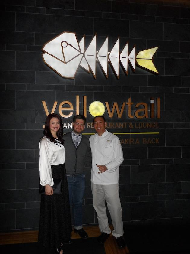 Jack Osbourne at Yellowtail