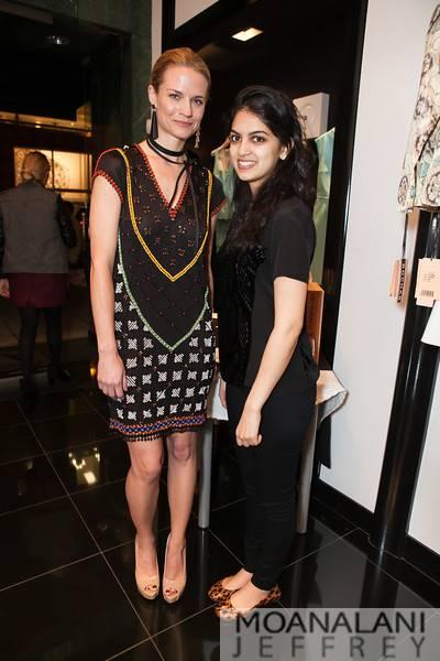 Kris Leifer and Sonam Rajpal