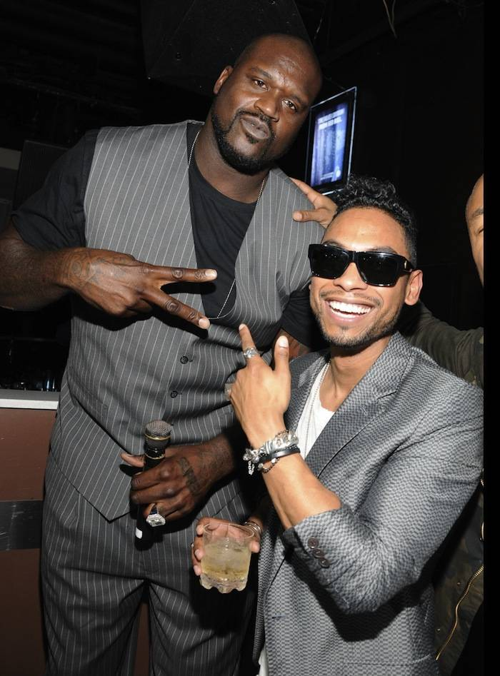 Miguel hosts an evening at Pure nightclub inside Caesars Palace in Las Vegas, NV