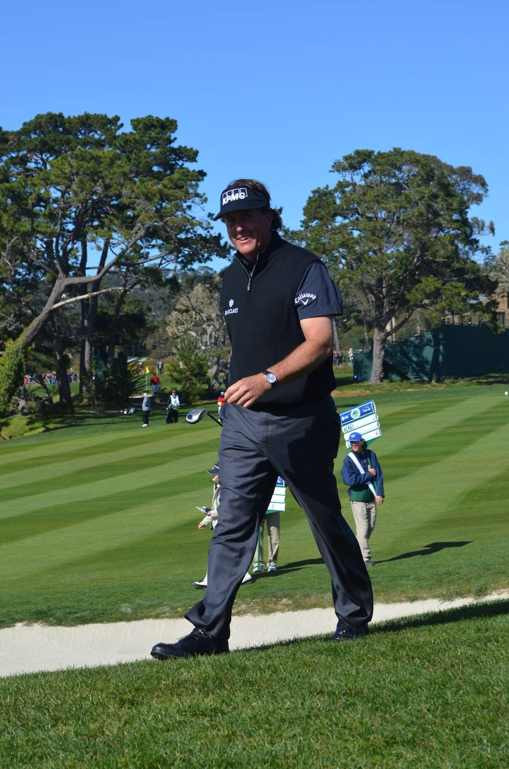 Phil Mickelson on the 6th