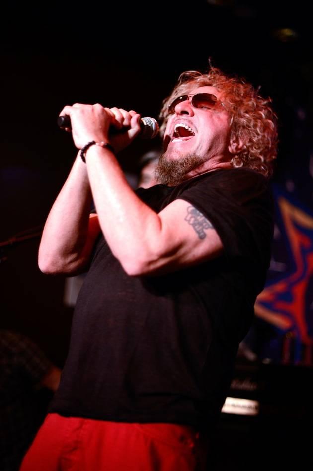 Sammy Hagar Celebrates Las Vegas' Cabo Wabo Cantina's 3 Year Anniversary With Live Performance