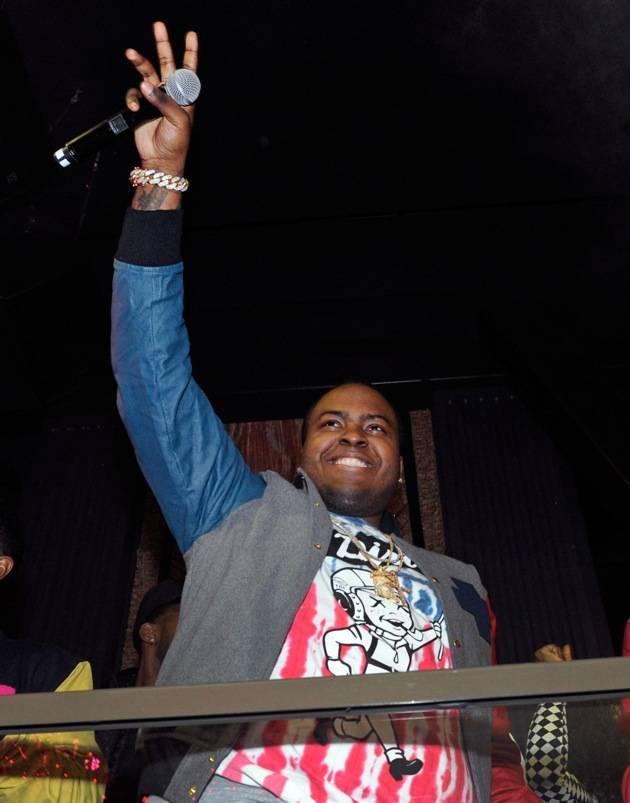 Sean Kingston Celebrates His Birthday At Chateau Nightclub at Paris Hotel and Casino