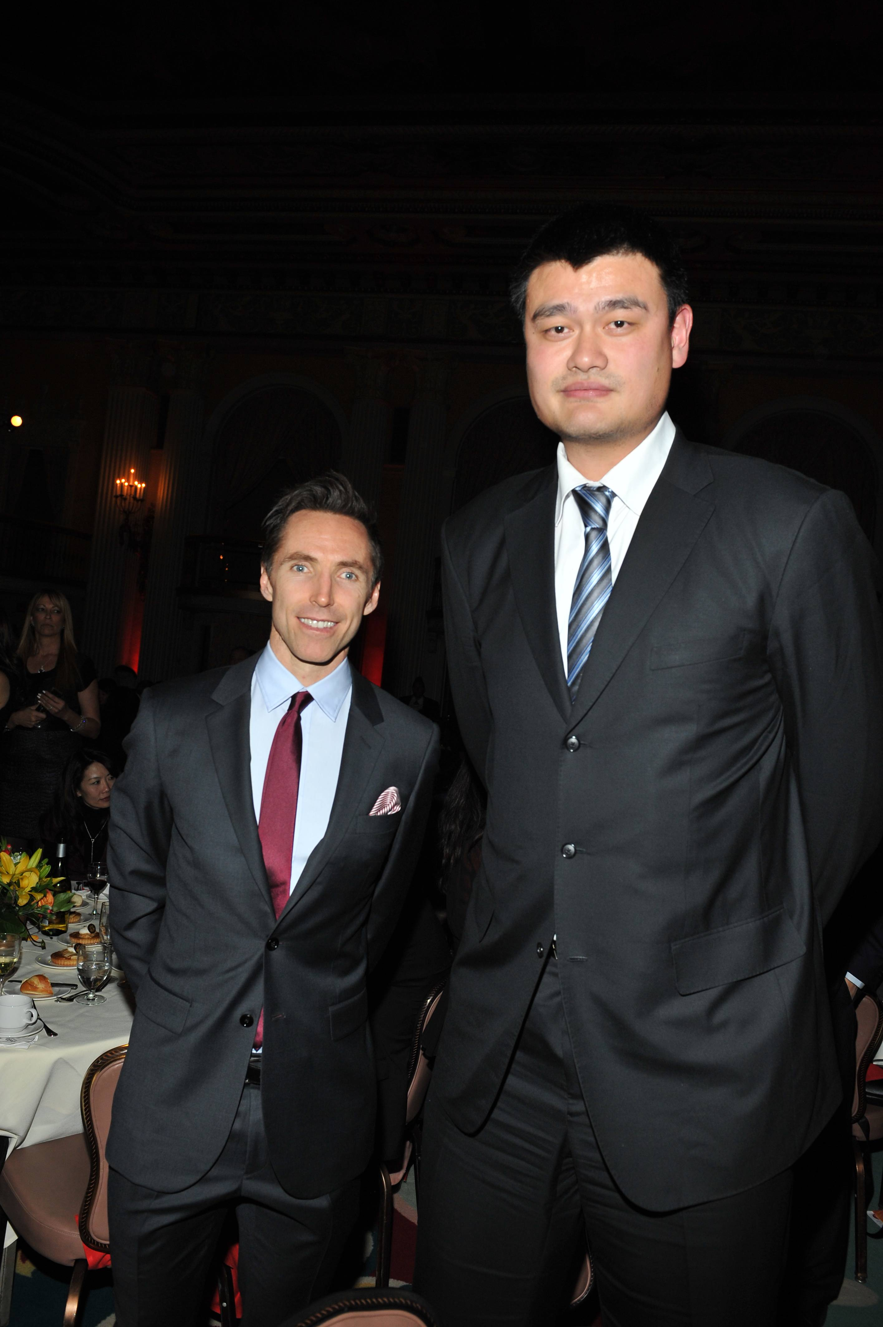 Girard Perregaux And Steve Nash Honor Nba Great Yao Ming