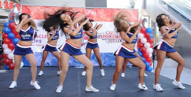 USA Sevens Cheerleaders