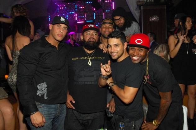 Wilmer Valderrama parties with friends at Hyde Bellagio, Las Vegas 2.2.13