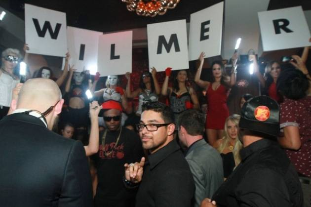 Wilmer Valderrama turns 33 at Hyde Bellagio, Las Vegas 2.2.13 (2)
