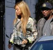 beyonce-gjelina-restaurant-venice-california-dolce-and-gabbana-printed-silk-bomber-jacket-azzedine-alaia-lace-up-platform-booties