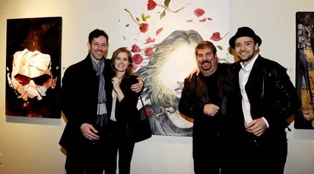 justin-timberlake-attends-art-exhibition-in-los-angeles-runs-into-timbaland-2