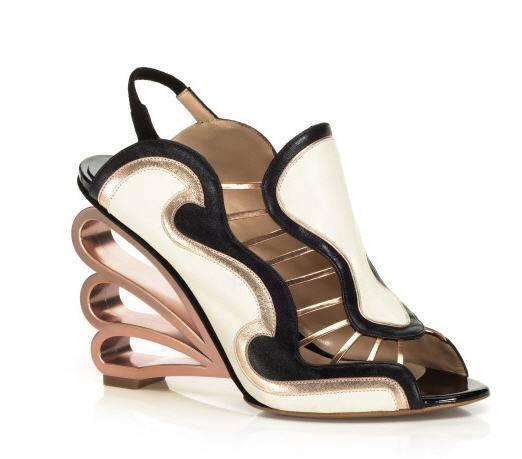 nicholas-kirkwood-spring-2013-strappy-slingback-sandals-black-white-rose-gold