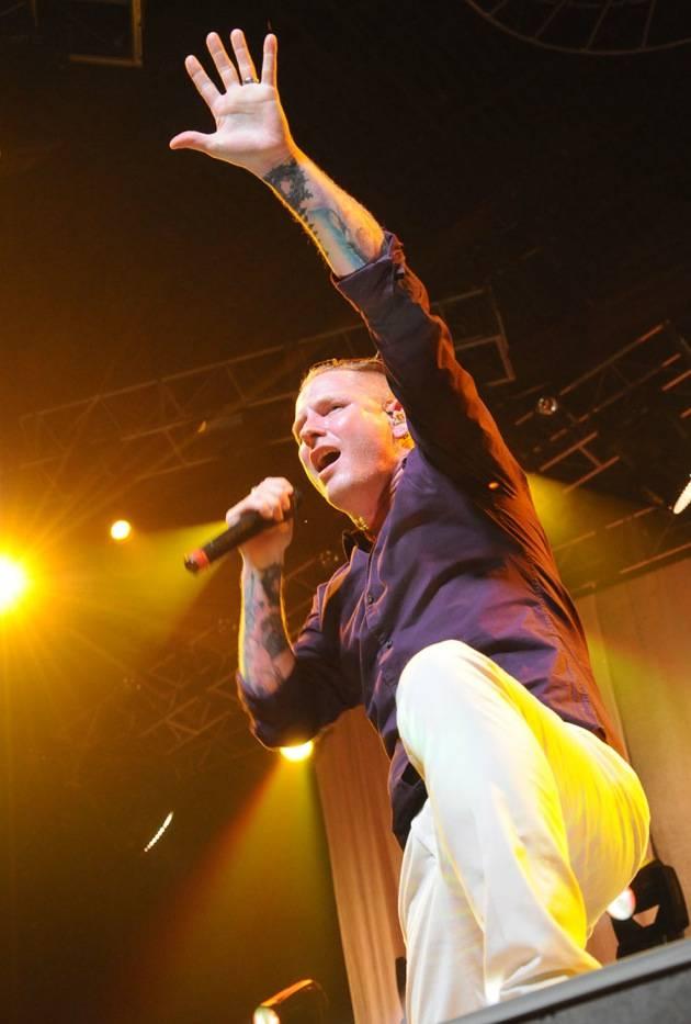 Stone Sour performing at The Joint inside the Hard Rock Hotel in Las Vegas, NV