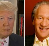 trump and maher – featured