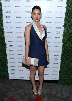 Vanity Fair And Juicy Couture Celebration Of The 2013 Vanities Calendar With Olivia Munn – Arrivals