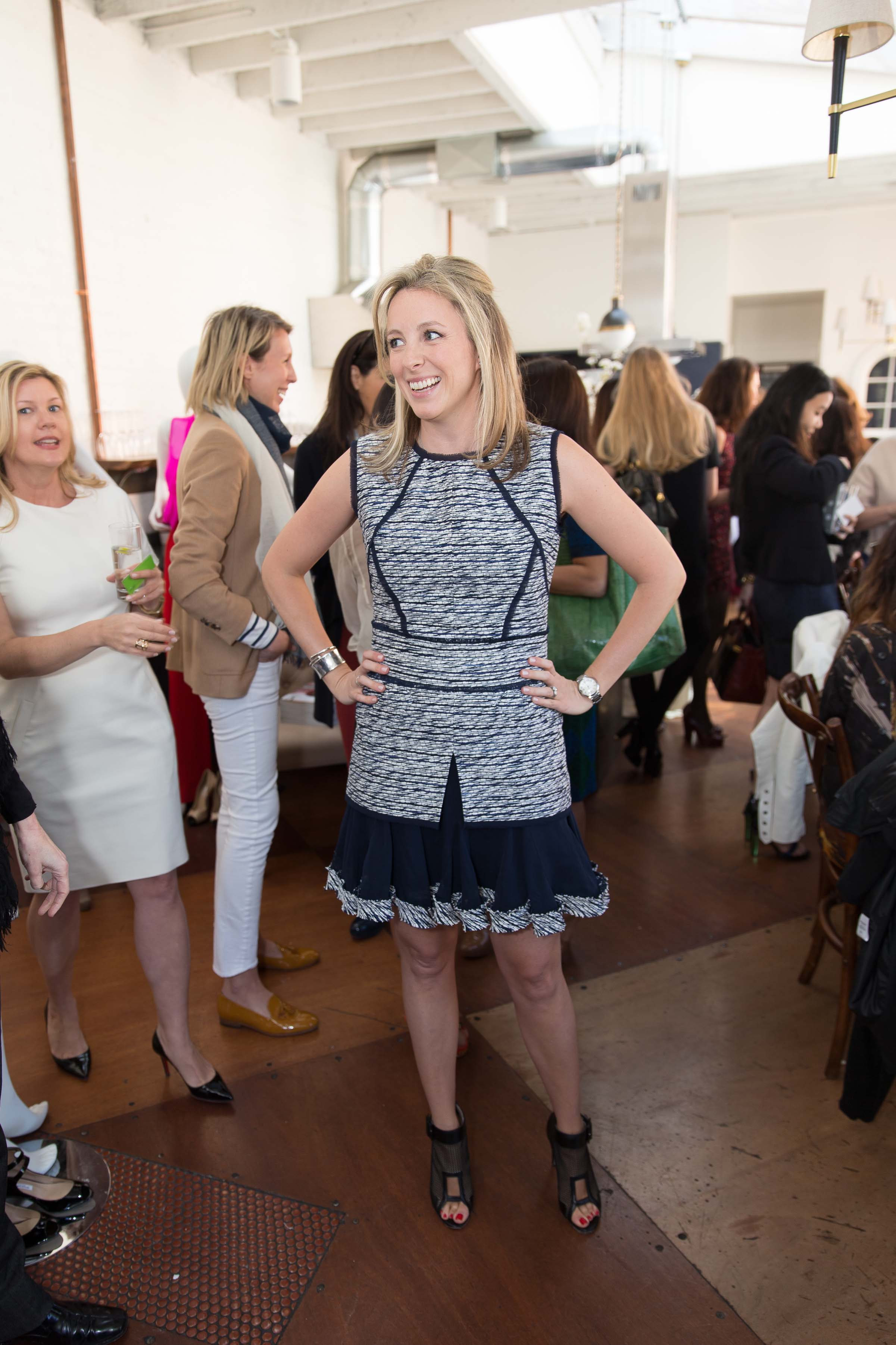 Oscar de la Renta for THE OUTNET Luncheon