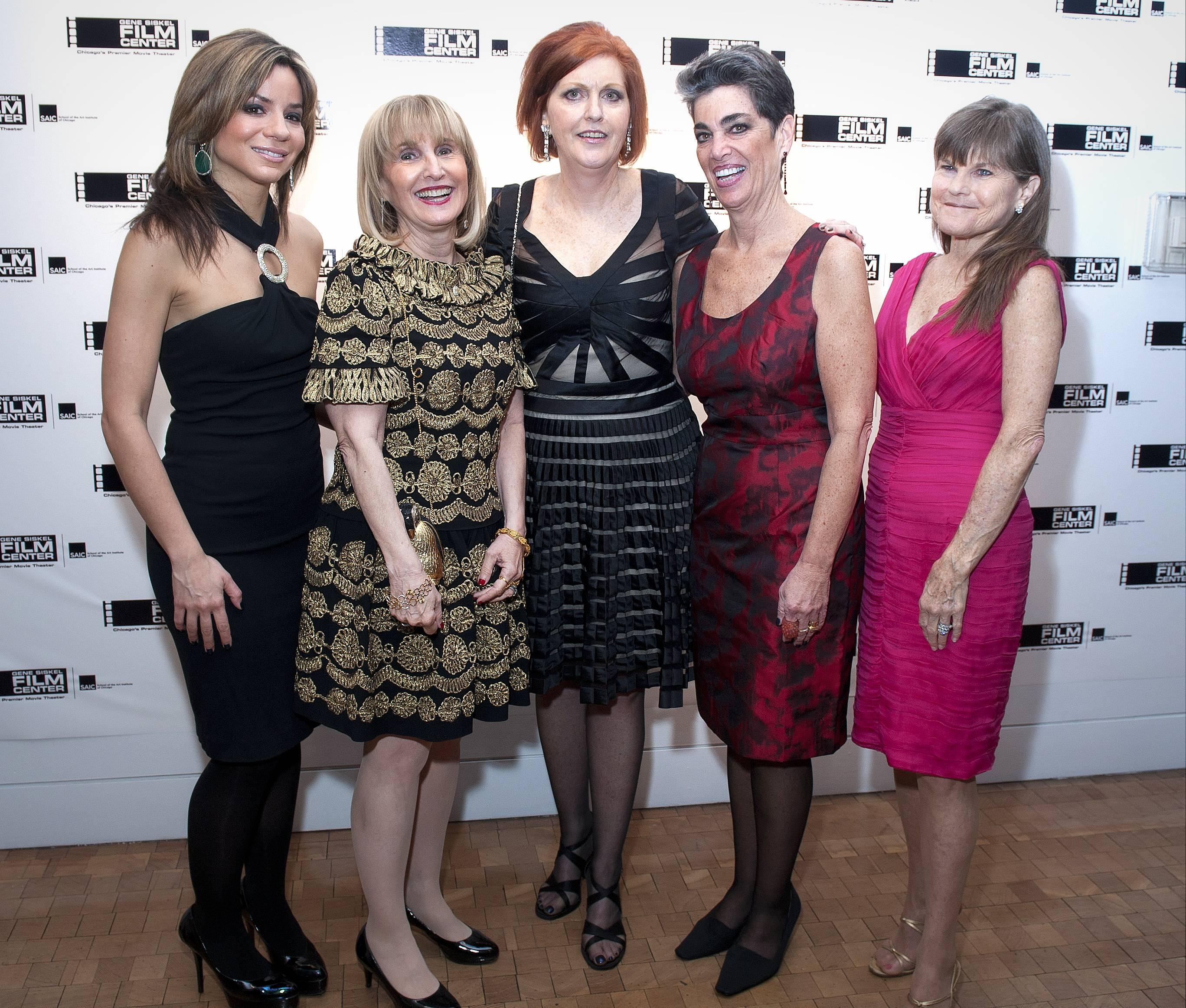 0222_Susanna Negovan, Ellen Sandor, Jean de St. Aubin, Michelle Cucchiaro, Kristin Anderson (Susanna and Kristin co-chairs)