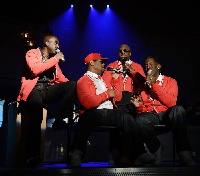 Boyz II Men Celebrate The Kickoff Of Their New Las Vegas Residency Show At The Mirage