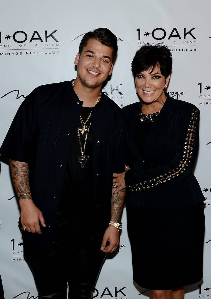 Rob Kardashian Celebrates His 26th Birthday At 1 OAK Nightclub At Mirage