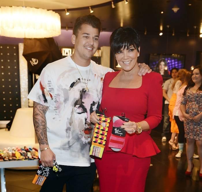 Kardashian Khaos Launches Rob Kardashian's Arthur George Street Sock Line