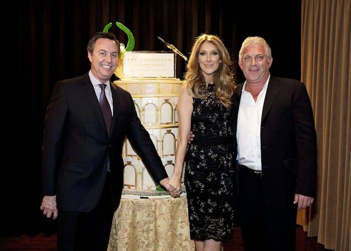 Celine Dion celebrates The 1Oth anniversary of The Colosseum at Caesars Palace
