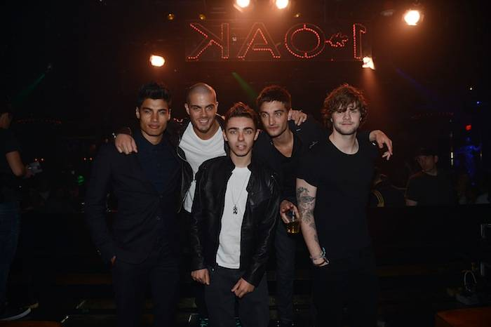 The Wanted Dine At Stack At The Mirage
