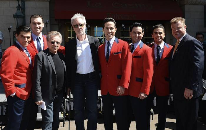 Frankie Valli And The Four Seasons Receive Star On