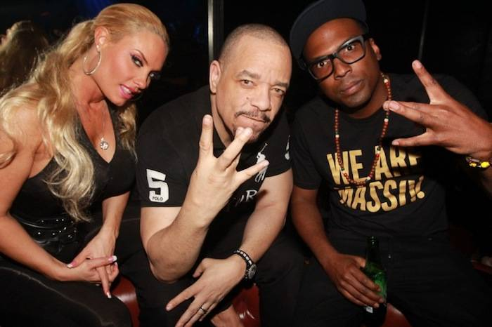 3.28.13 Coco Austin, Ice-T and 12th Planet hang out at Body English Nightclub & Afterhours
