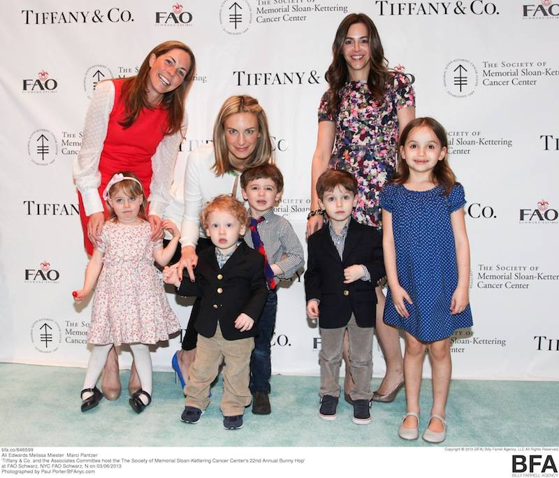 Tiffany & Co. and the Associates Committee host the The Society of Memorial Sloan-Kettering Cancer Center's 22nd Annual Bunny Hop