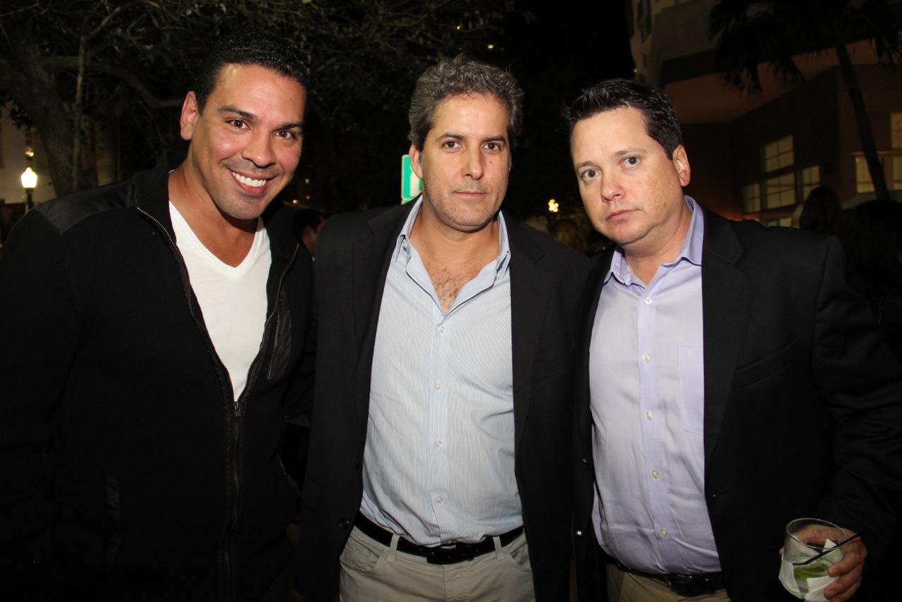 Andres Espinoza, Fernando Pardo, Alejandro Abascal