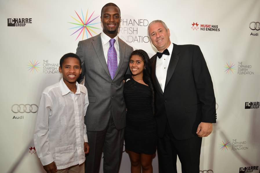 Andres, Plaxico Burress, Linda, Andy Stein_