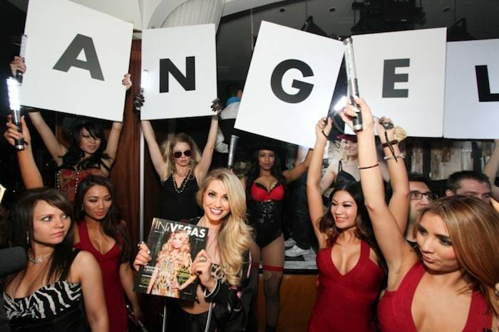 Angel Porrino hosts IN VEGAS Mag Spring Launch at Hyde Bellagio, Las Vegas, 3.26.13