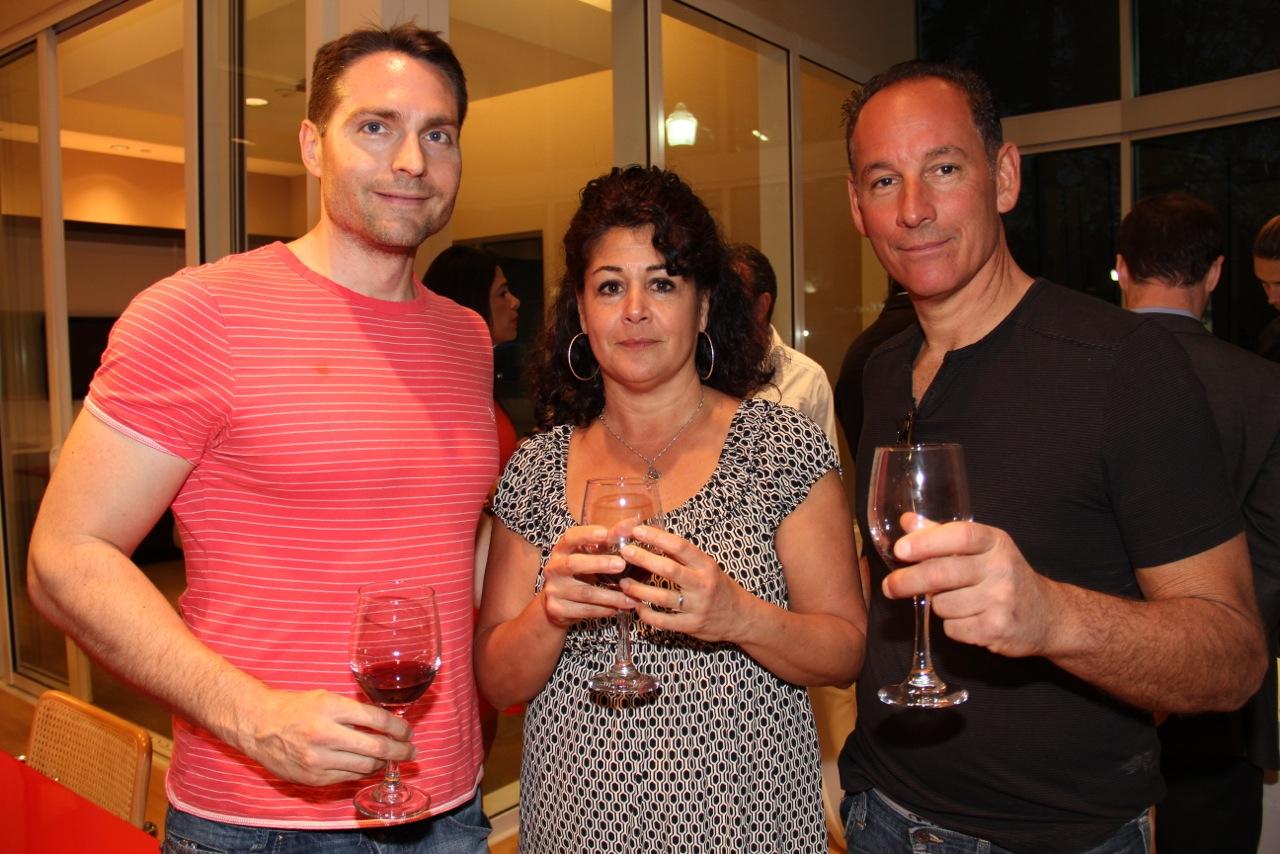 Brian Carter, Joanne Venezia, Frank Venezia