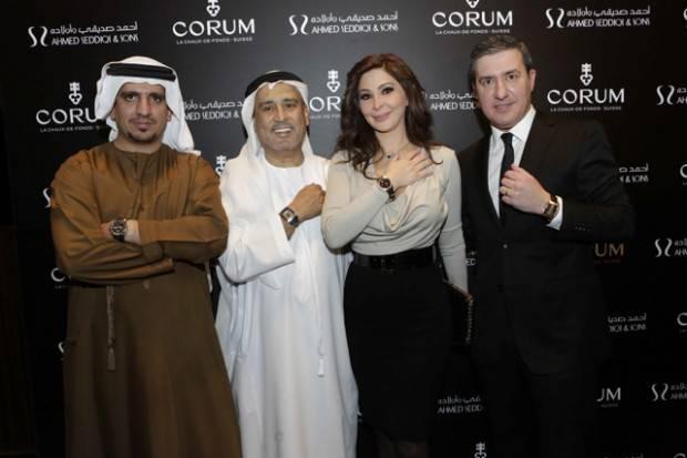 Corum_exposition_Dubai_Mall_Mohammed_Abdulmagied_Seddiqi_VP_Sales_Retail_Abdul_Hamied_Seddiqi_Vice_Chairman_Elissa_Khoury_and_Anotnio_Calce-620×413