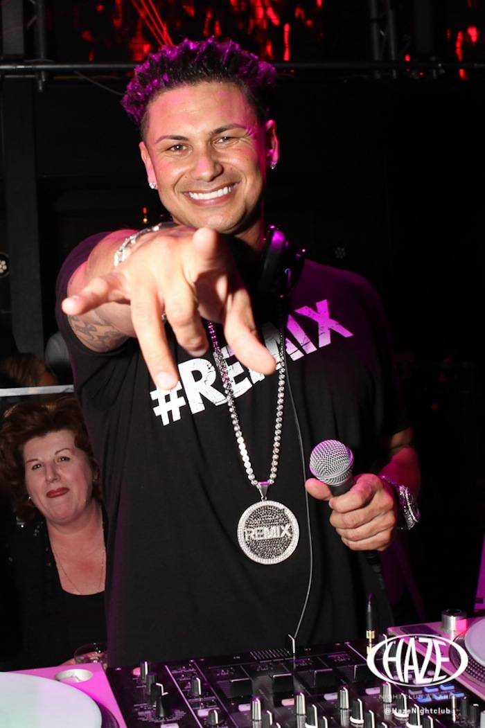 DJ Pauly D and Vinny's mom (1)
