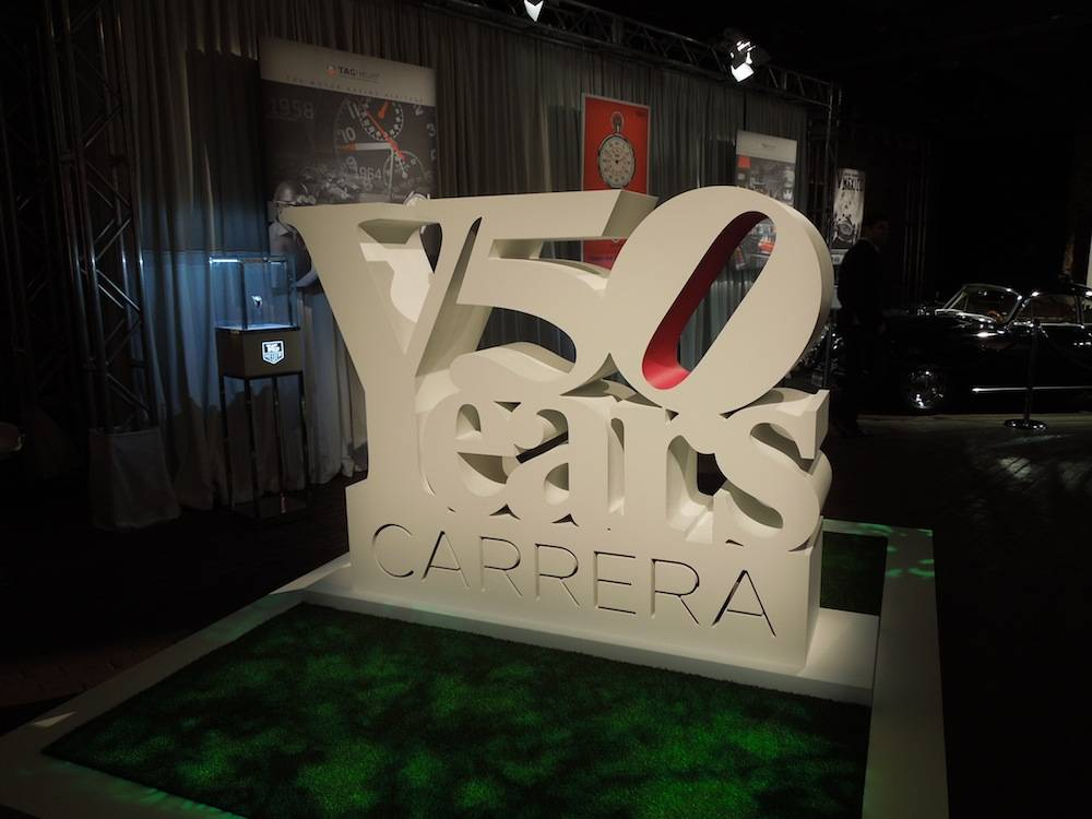 50 Years of TAG Heuer Carrera