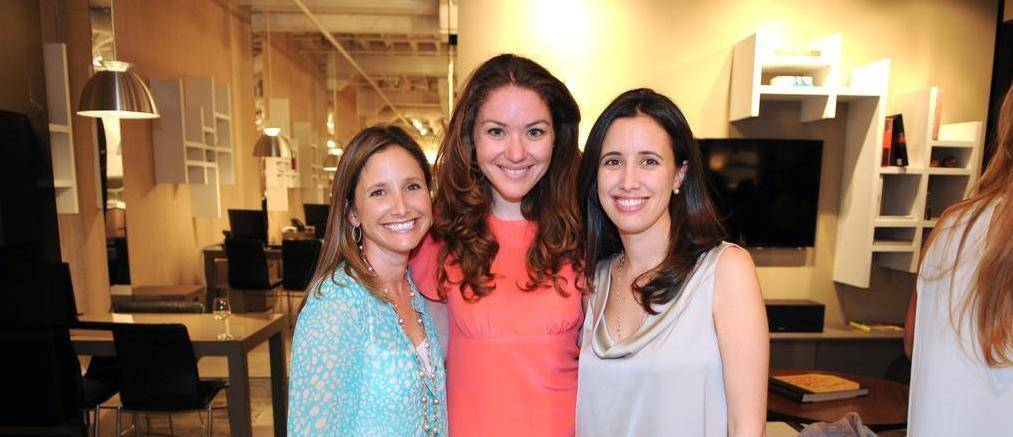 Fashionably Conscious Co-Founder Marcia Martinez with Iris Kolaya, Erica Guzman