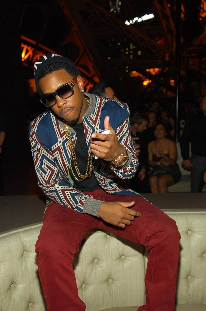 Jeremih_Chateau Nightclub Rooftop_VIP Booth
