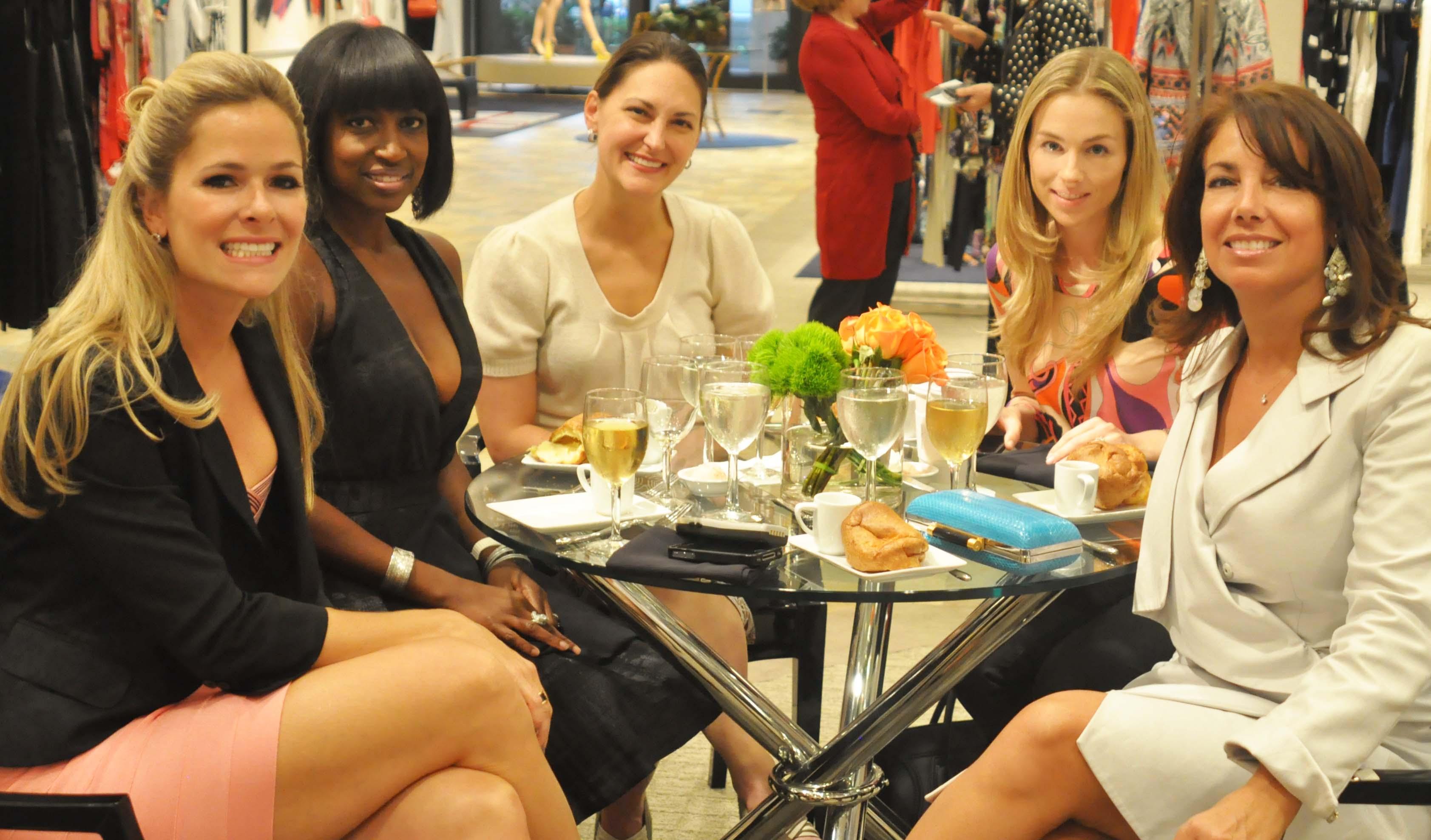 Jessica Anderson, Chantelle Streete, Sarah Smith, Lauren Geduld, Michelle Rogers