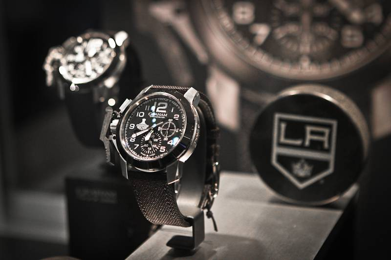 LAKings_Graham_WestimeEvent - LA Kings Chronofighter