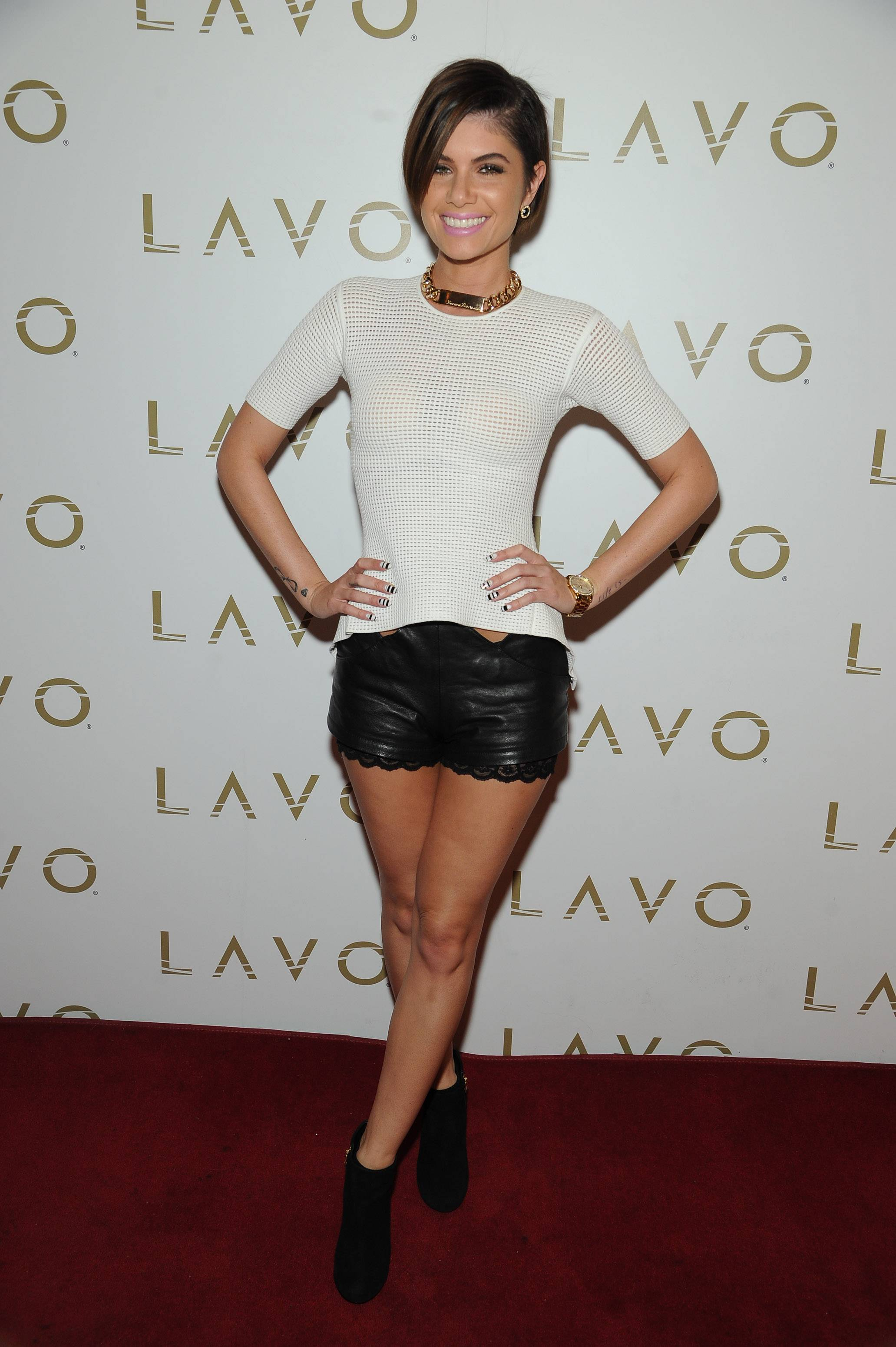 Leah Labelle at LAVO