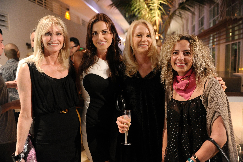 Suzanne Leeds, Channing Norton, Glenna Norton, & Nina Johnson