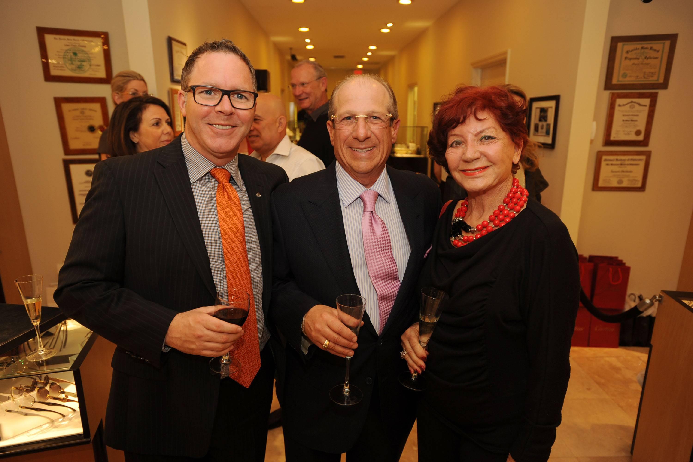 Marc Caufman, Bernie Oberlender, & Anaide Govaert
