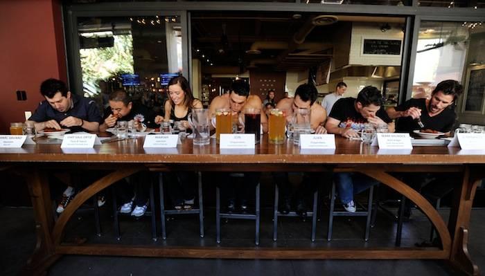 Meatball Spot Hosts Meatball Eat Contest Featuring Las Vegas Entertainers