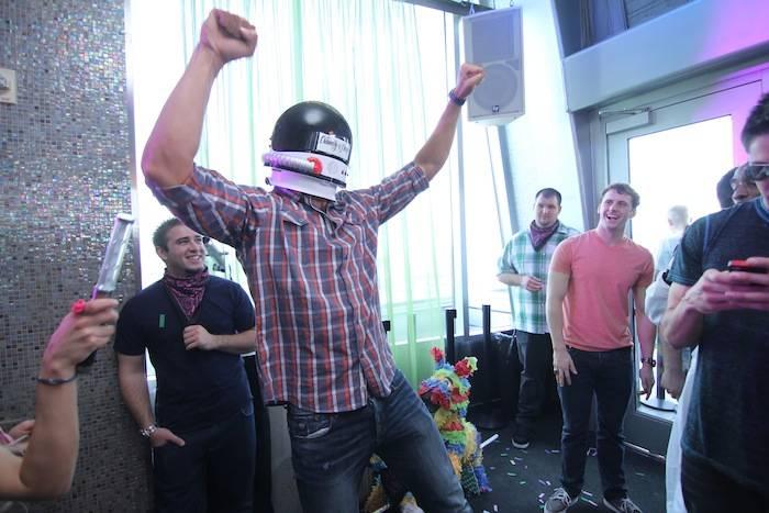 Matt Grevers Astronaut Helmet